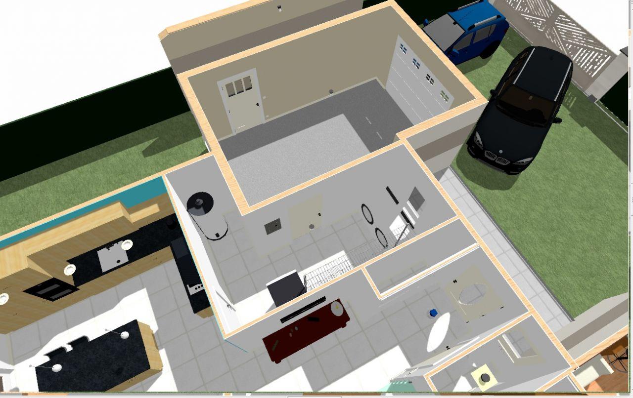 Chief Archi - cellier garage