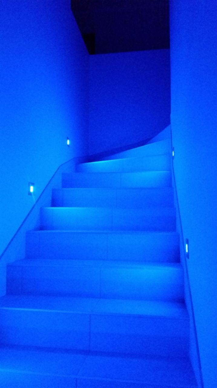 Escalier vue de nuit