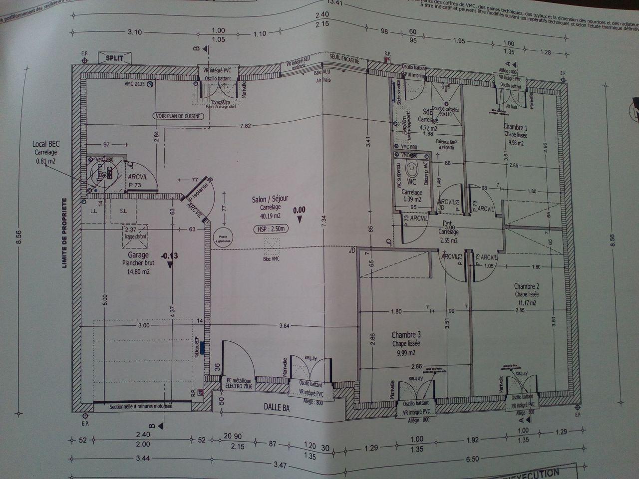 Plan de notre maison