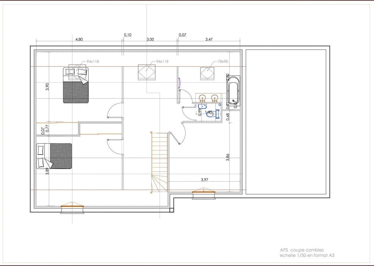 Plan de l'étage V3