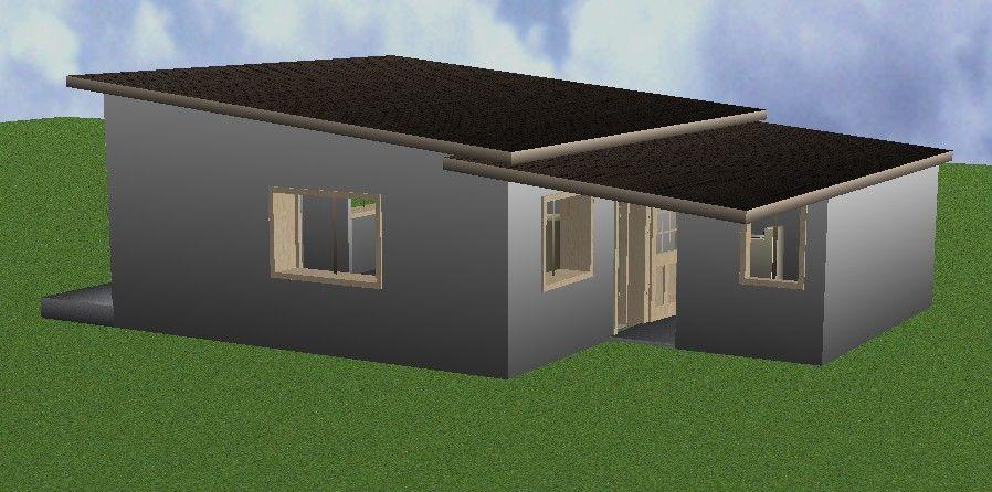 C'est en juillet 2015 que nous entamons avec l'entreprise Kervran à l'agence de Crozon la conception de cette maison, sur mes plans.