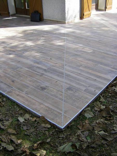 Chape terrasse 50m2 for Carrelage joint de dilatation