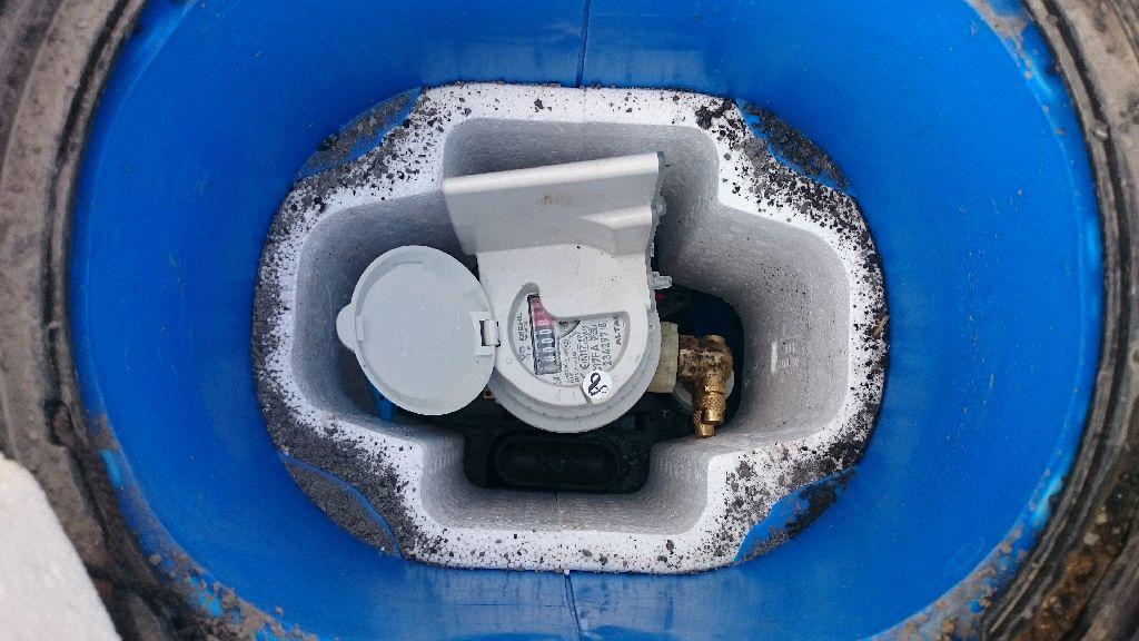 le compteur d'eau
