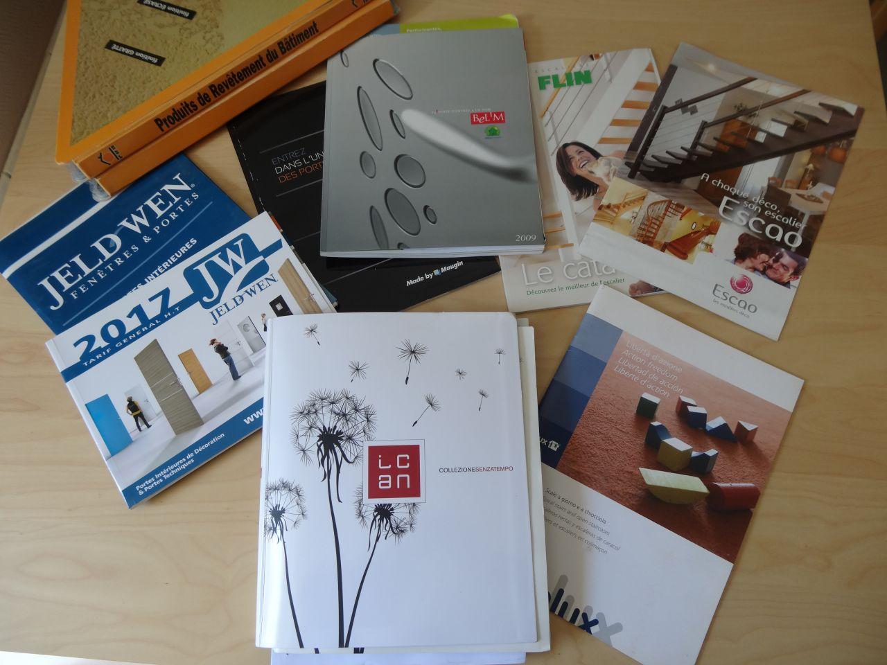 Catalogues Jeld Wen, Maugin, Bel?m, Flin, Escao, Inlux et Ican porte