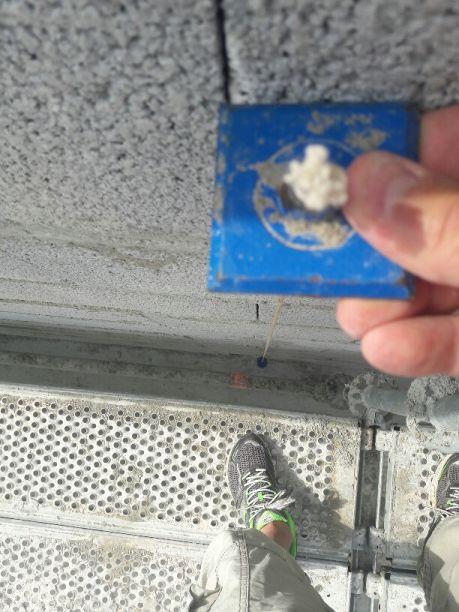Elevation des murs RdC - Jour 3- verifications