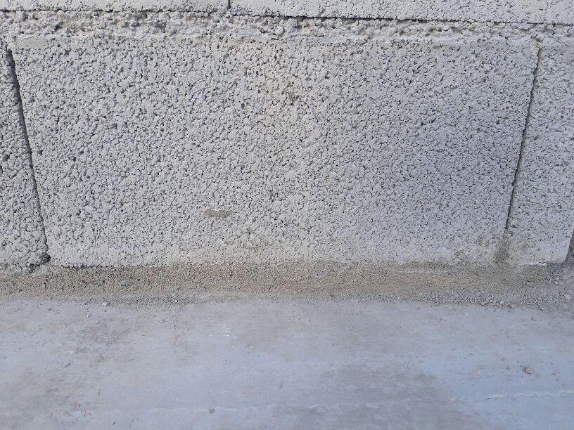 Etanchéité de la dalle au RdC: coupure de capillarité
