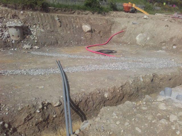 Les fouilles