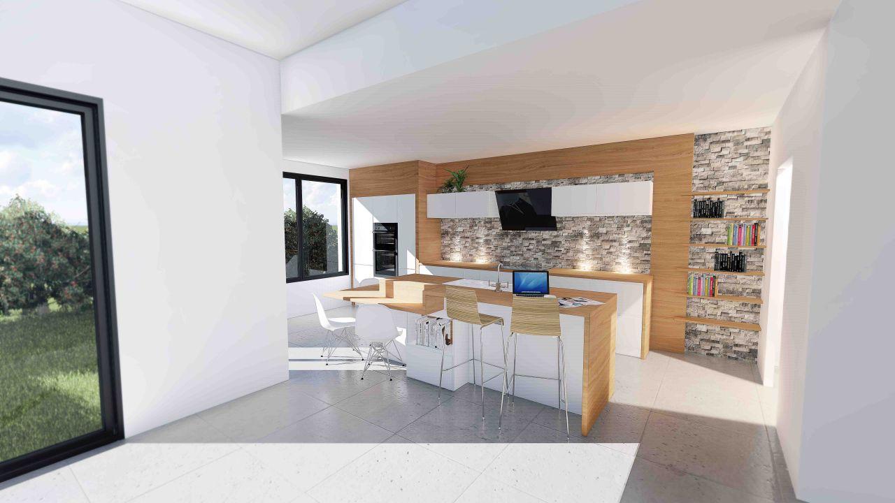 Rendu 3D cuisine 1