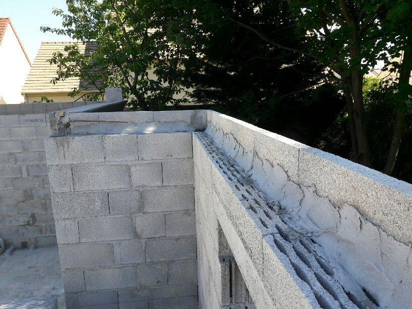 Fin évélation des murs Rez de Chaussée