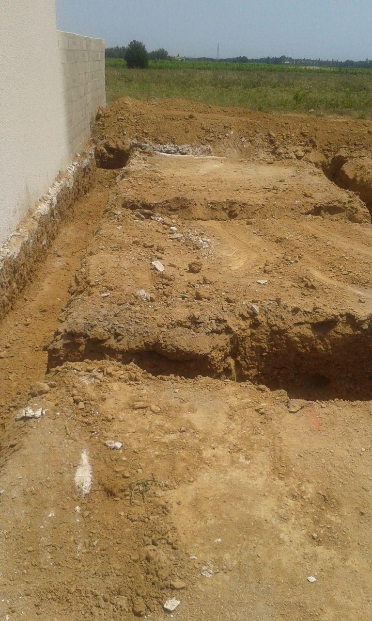 fouilles fondations 1