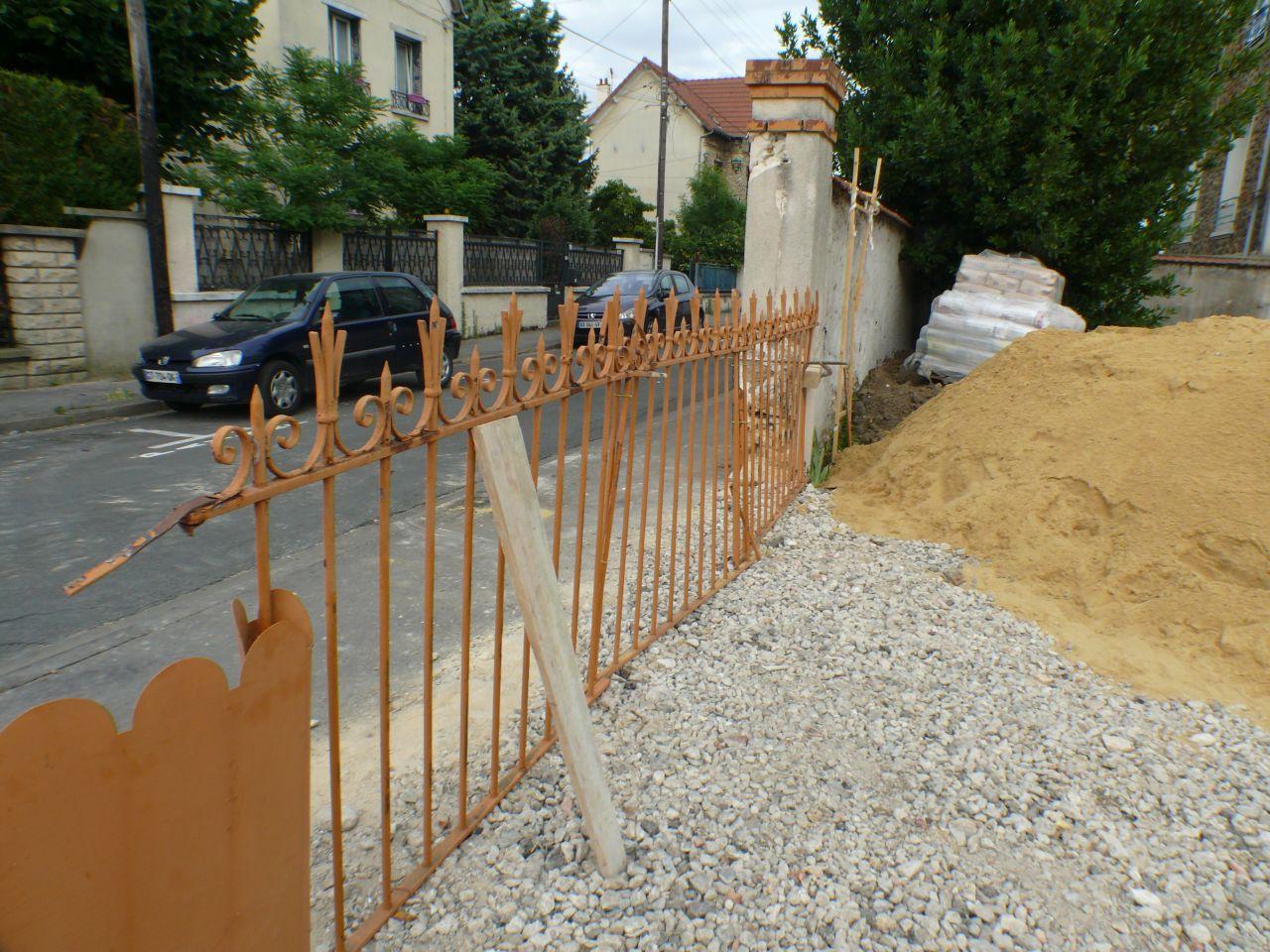Protection du chantier