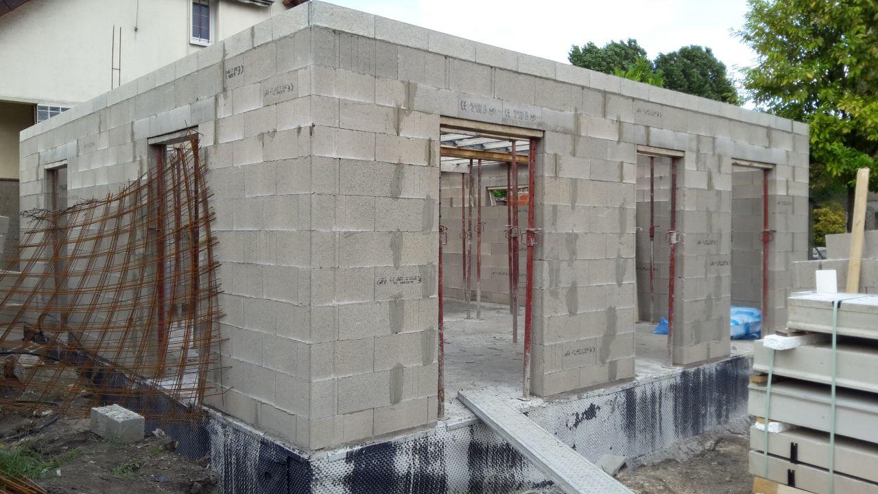 les murs prennent la forme