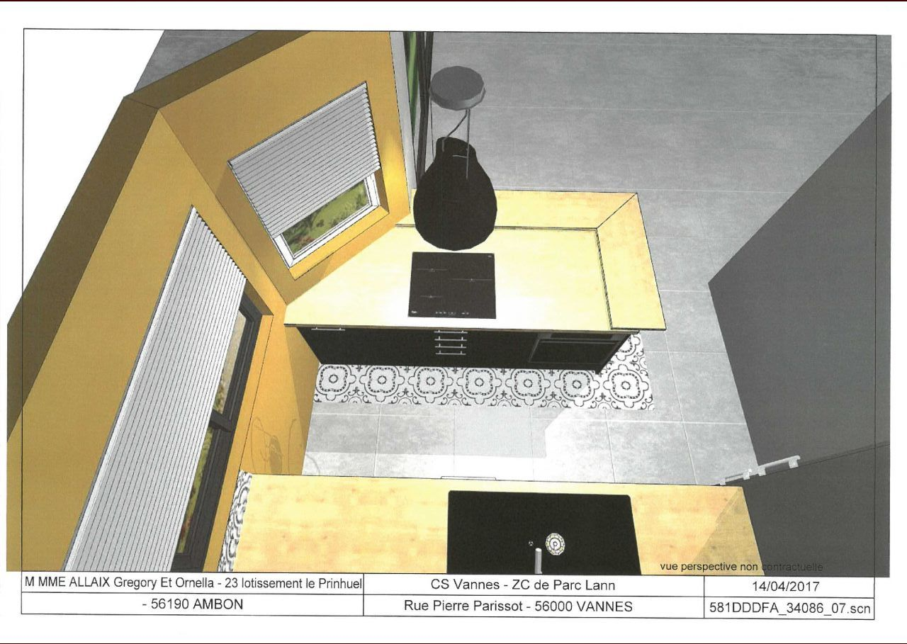 cuisine vue du plafond