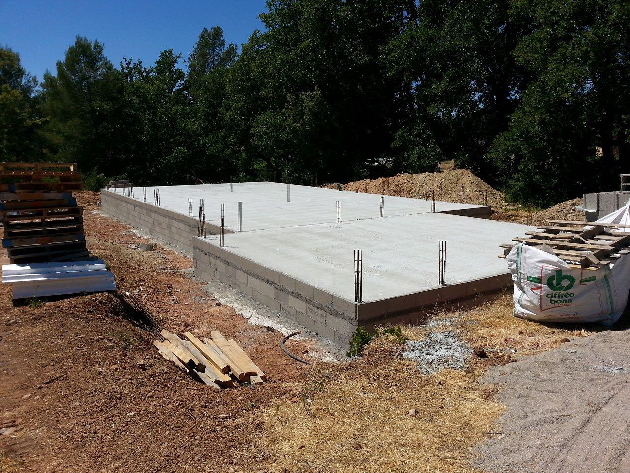 Réalisation du plancher Maison et Garage