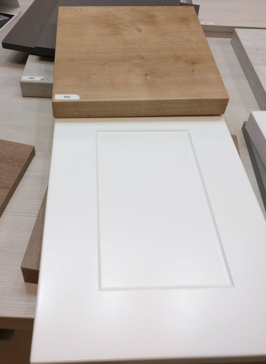 Cuisine envia : mobilier castel, plan de travail façon bois