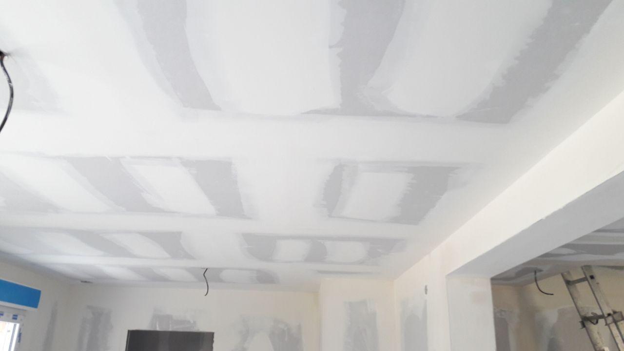 enduit plafond rdc cuisine