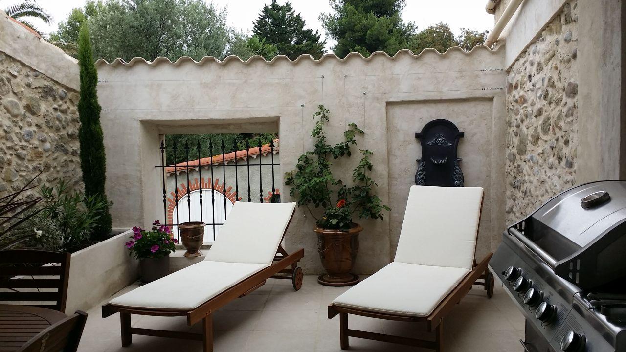 Cuisine d'été : la terrasse tropézienne.