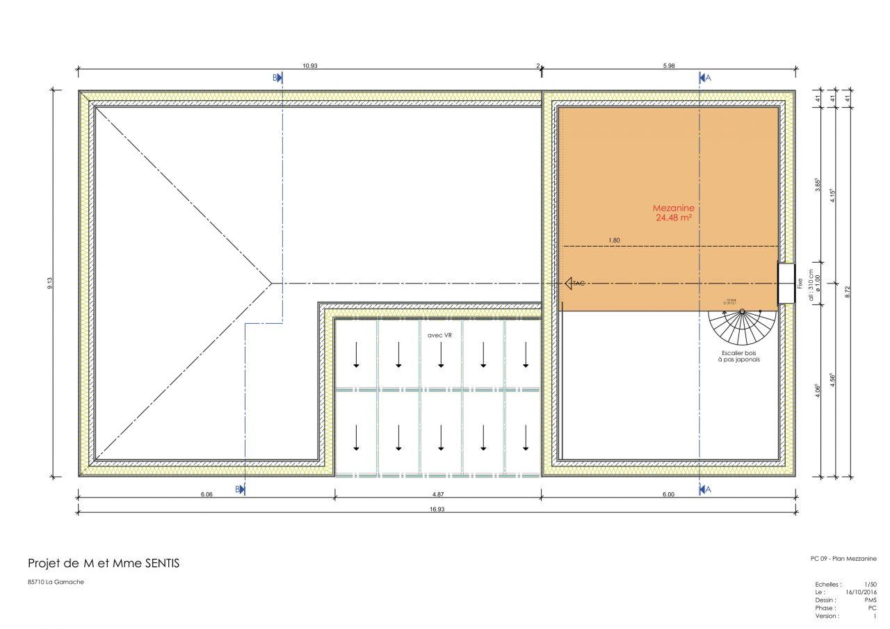 Plan maison bioclimatique 2