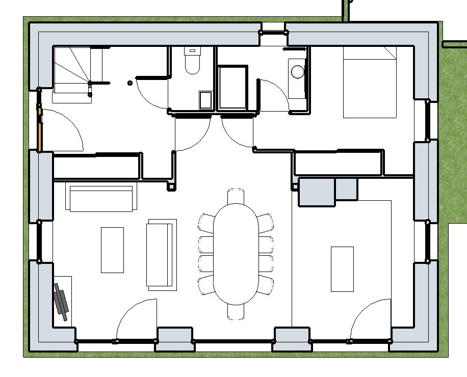 Plans maison passive r 1 environ 130m 52 messages for Plan maison passive