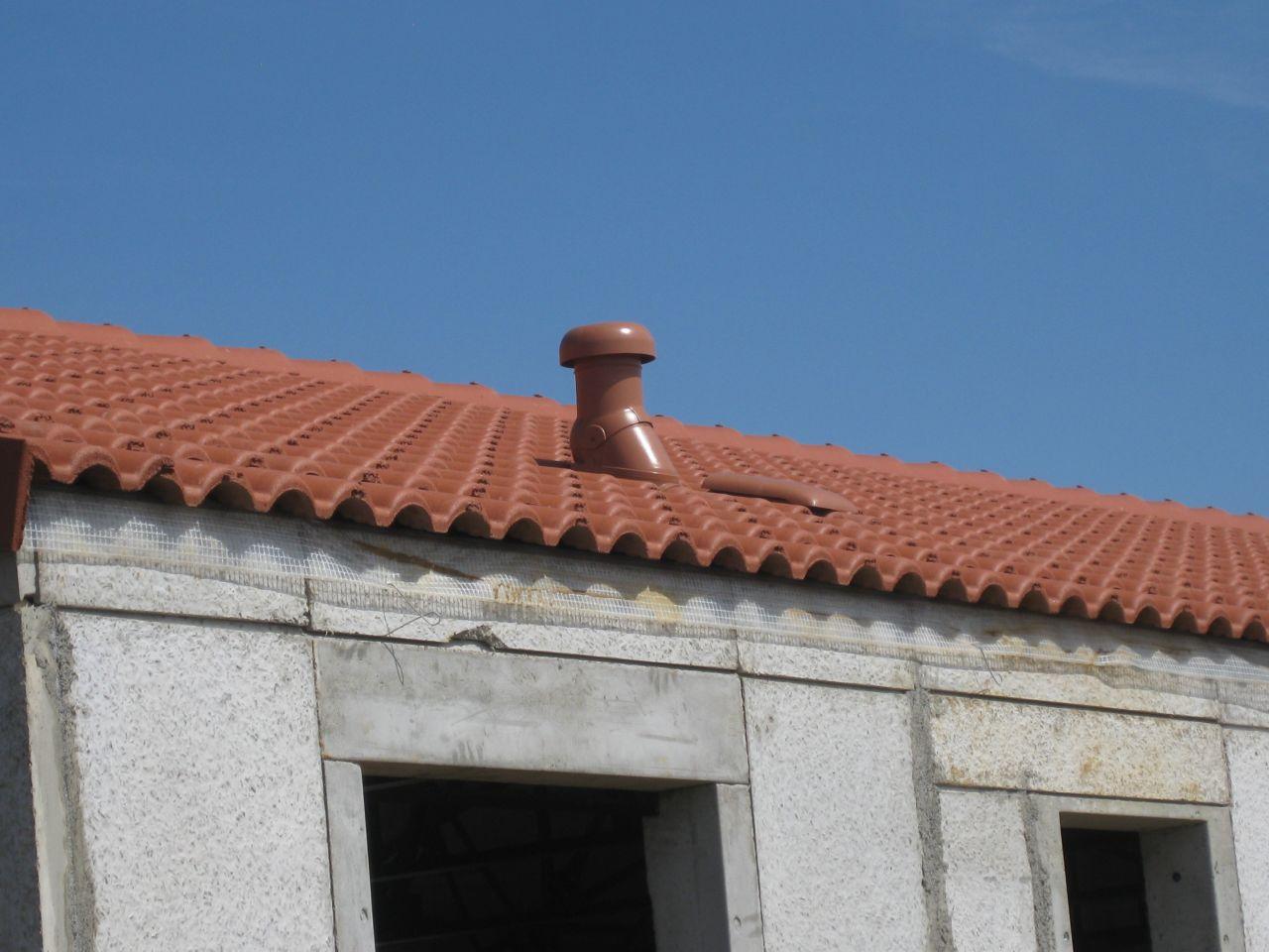 un champignon a poussé sur mon toit !!