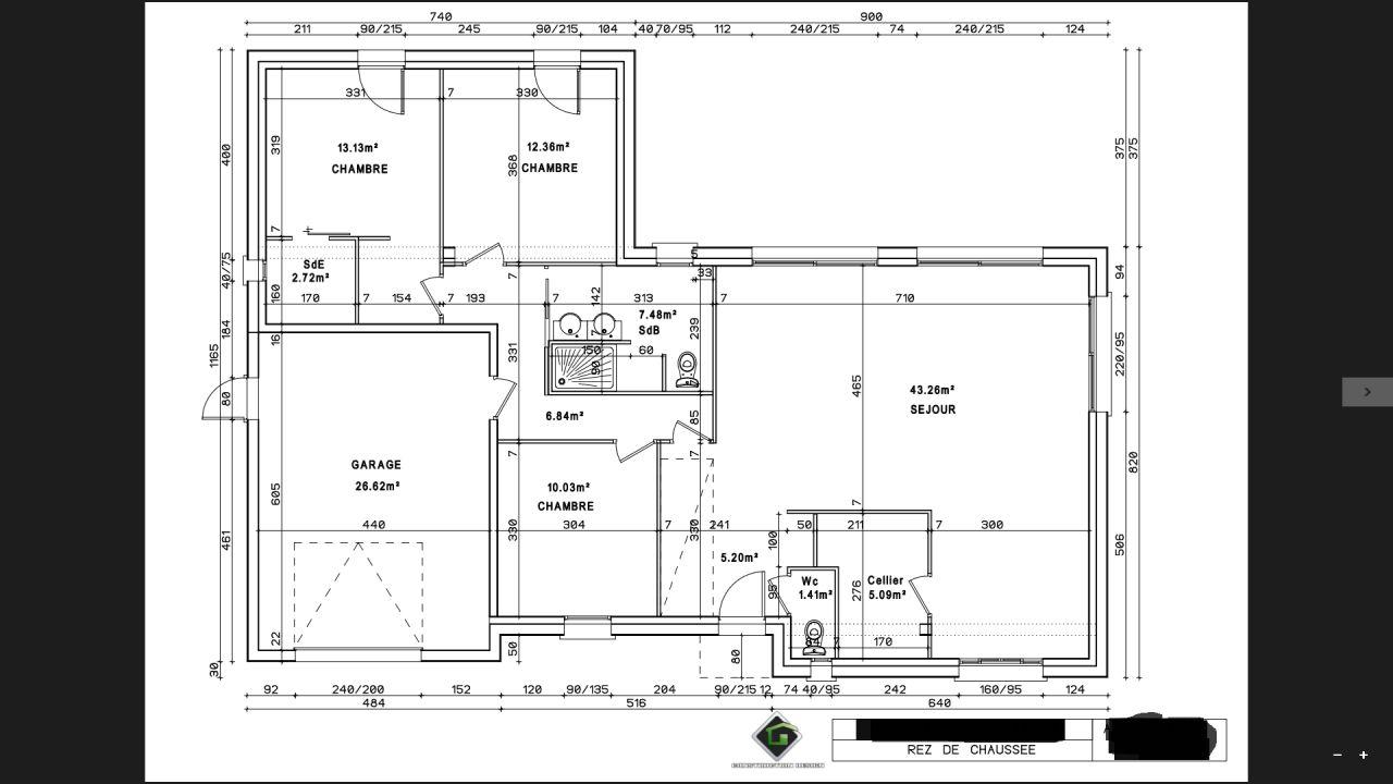 plan de notre future maison par construction design