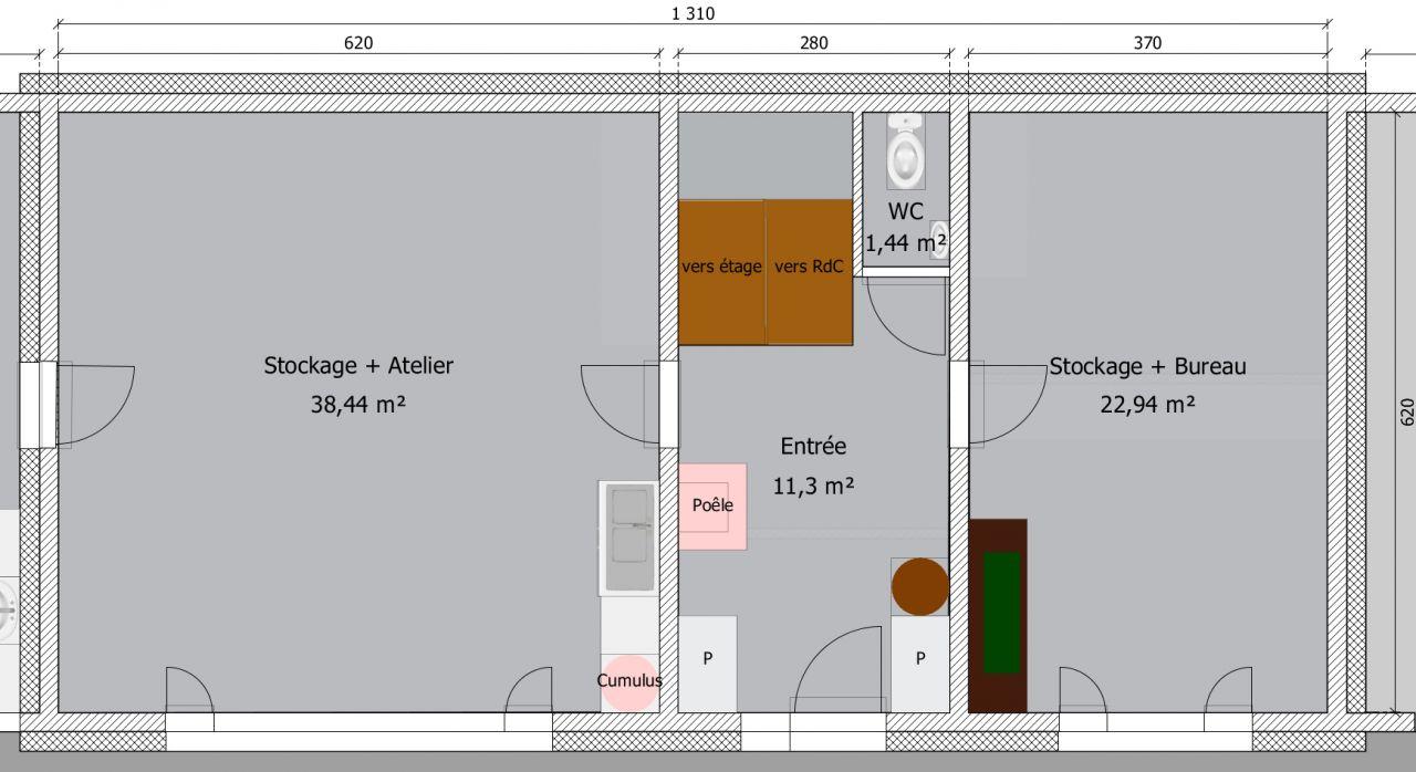 Radiant De Chantier Leroy Merlin répartition chaleur sur construction neuve avec ite - 43