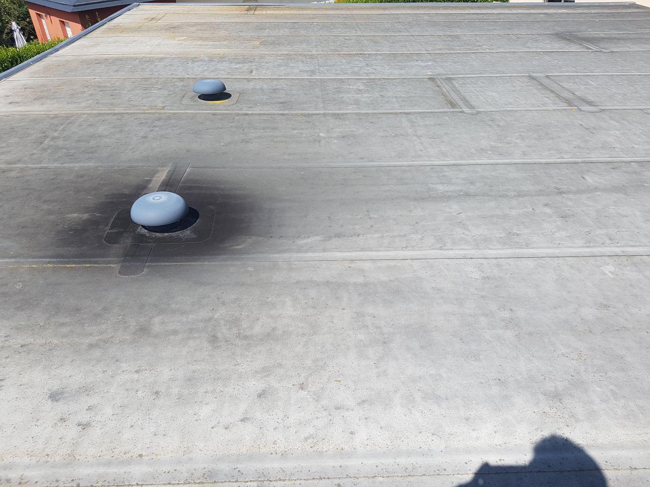 Un toit en rhépanol après 6 ans