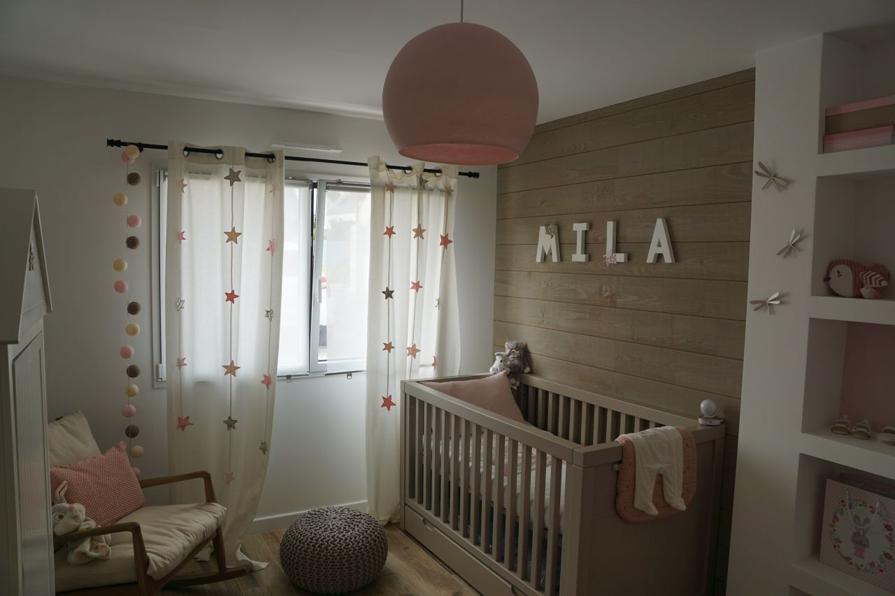 La chambre de Mila est prête :)