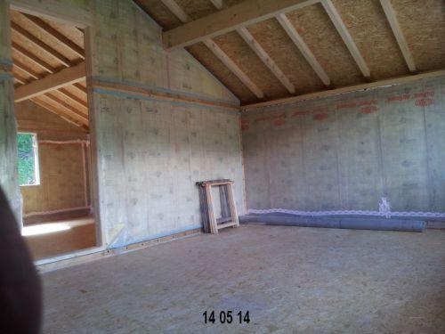 Vue plancher bois 1er étage