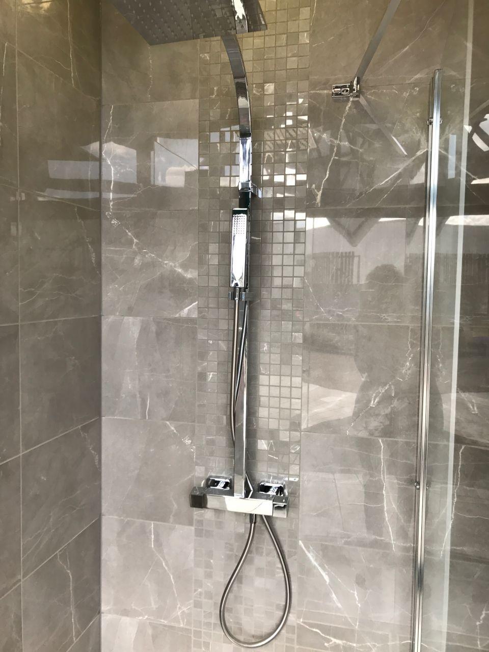 Mosaïque receveur douche italienne