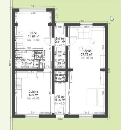 Rénovation Maison 1940 chambres en enfilade - 169 messages