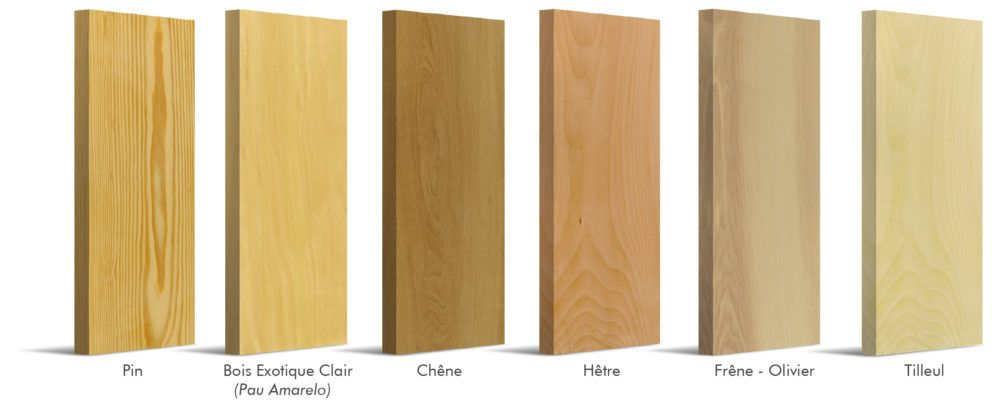 Essences de bois escaliers Flin