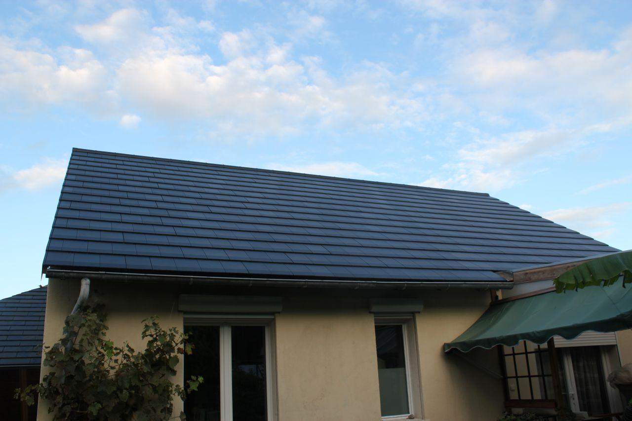 vue générale du toit