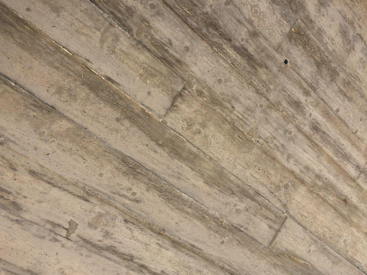 Mur en béton coffré bois brut: résultat