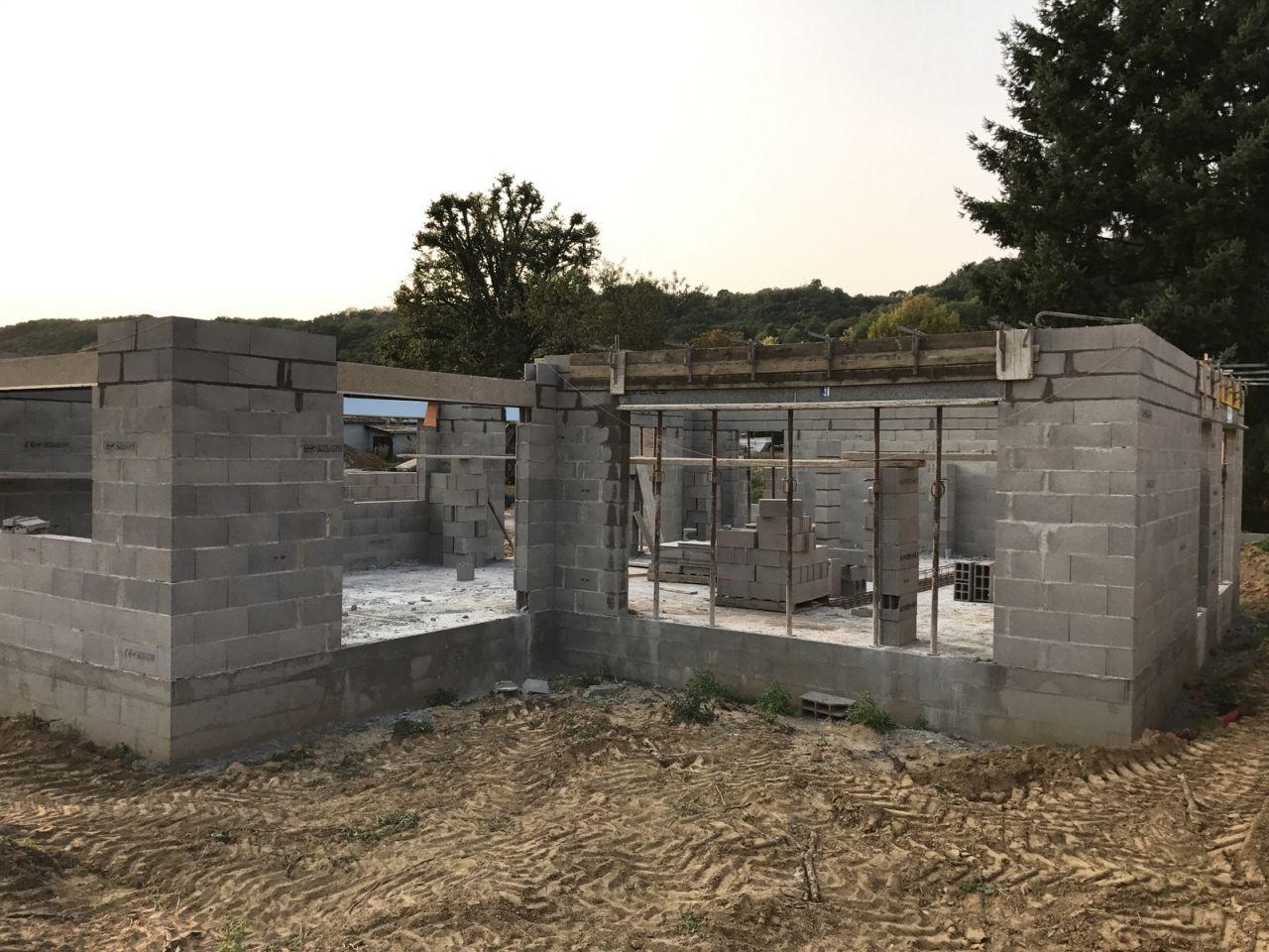 Élévation des murs - J3