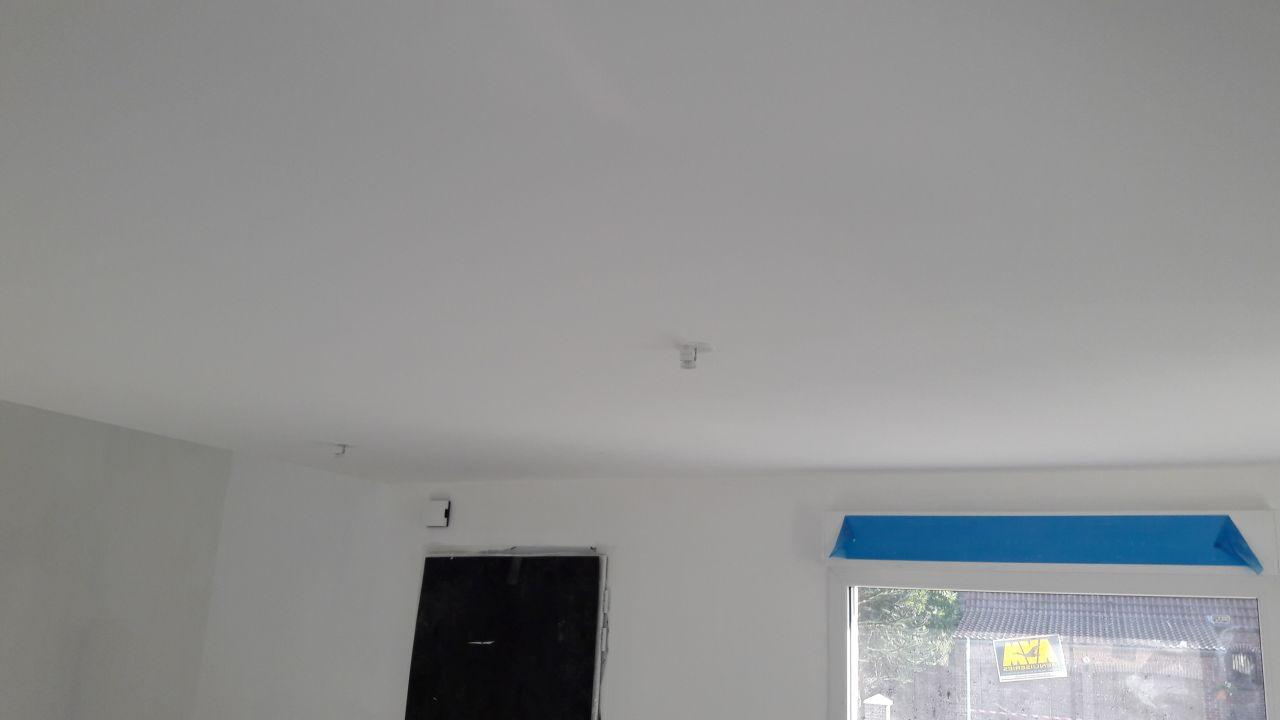 peinture du plafond rdc