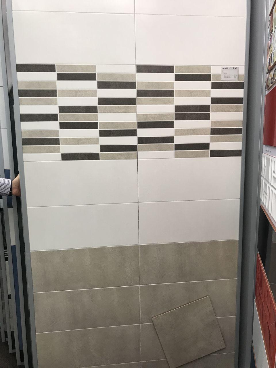 Choix faïences salle de bain