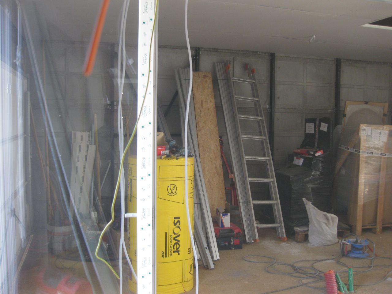 coté garage (non isolé)
