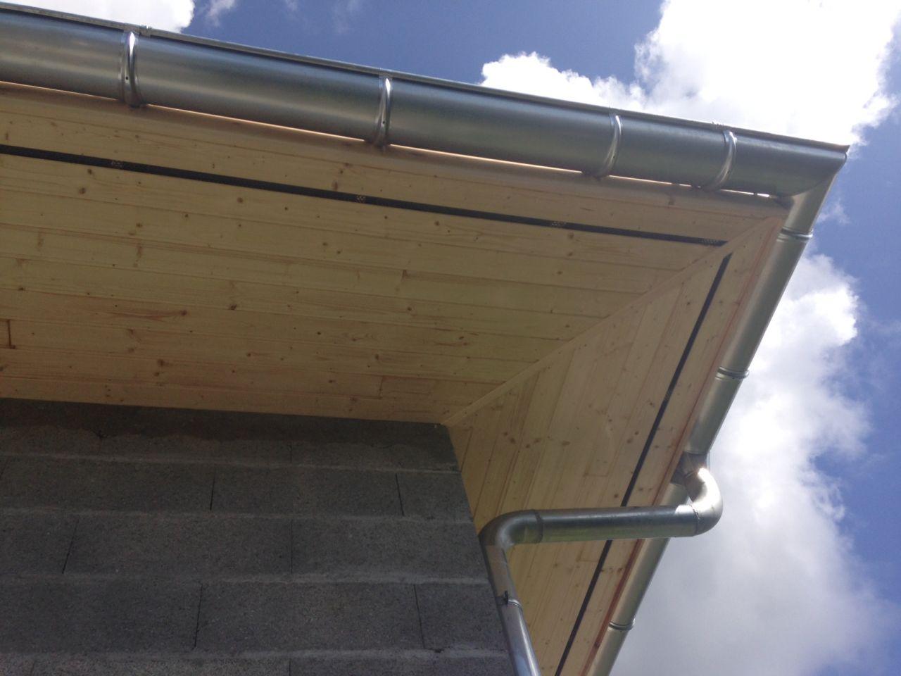 Cheneaux et habillage des dessous de toit