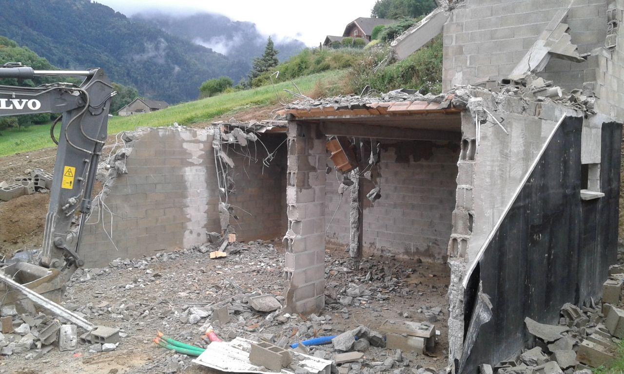 2e jour de démolition