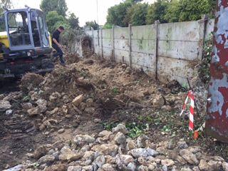 Démolition murs en pierre