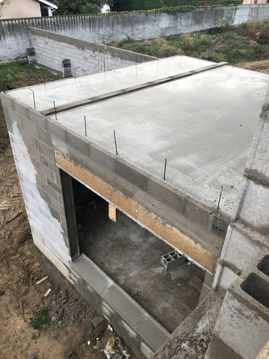 Élévation des murs - J9