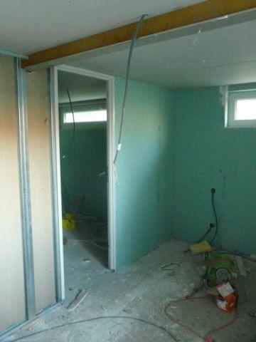 La nouvelle chambre au sous_sol
