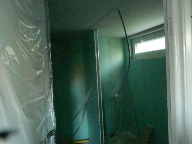La future salle d'eau au sous_sol