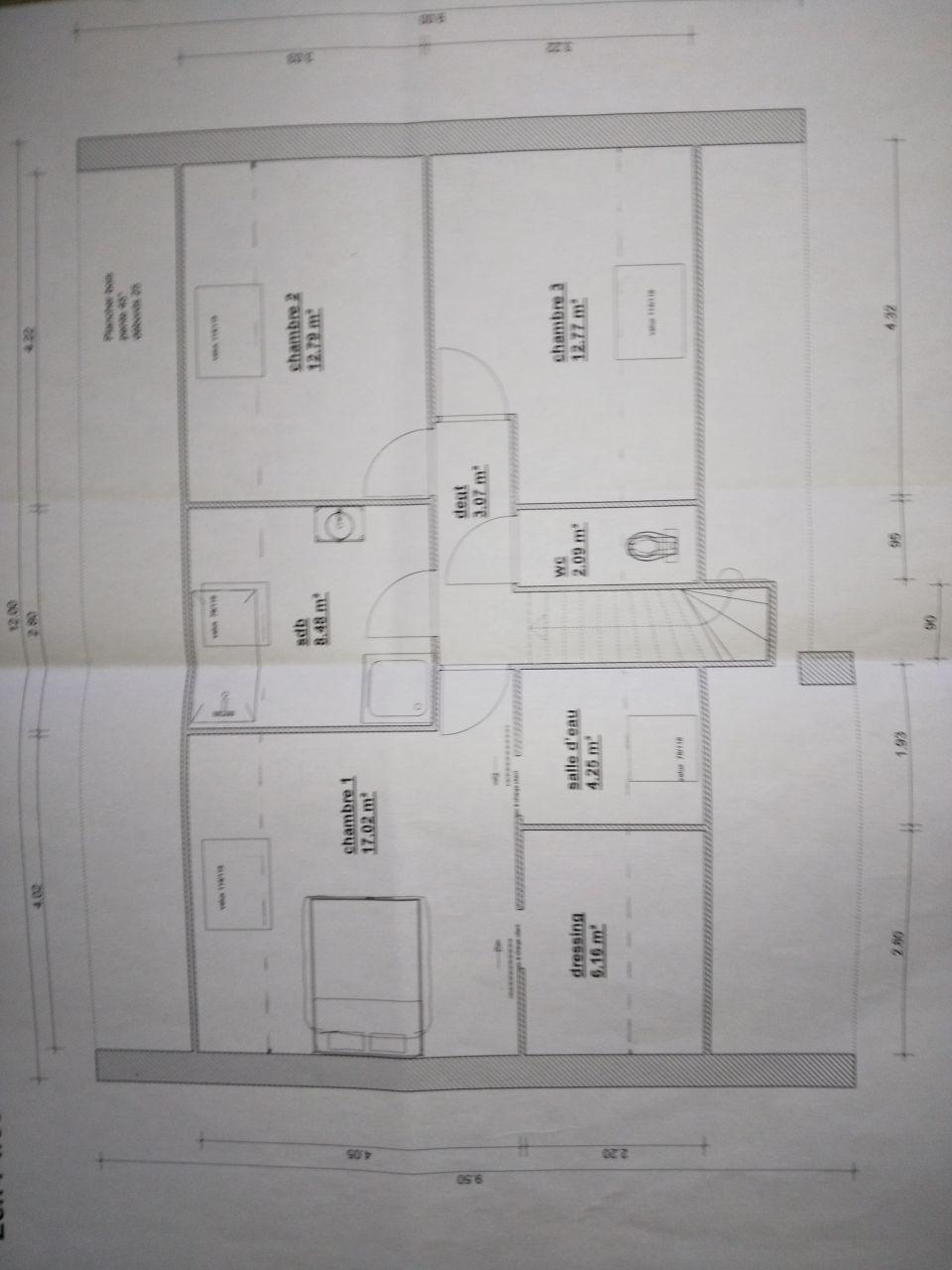 préparation plan étage