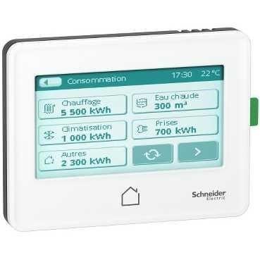 système de gestion de la consommation d'énergie Wiser (conforme RT2012)
