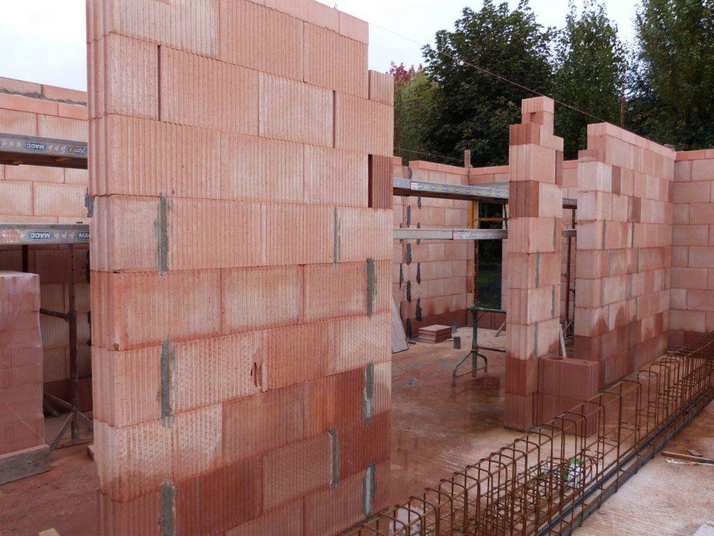Mur porteur intérieur (couloir rdc)