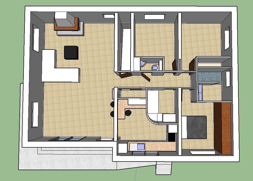 Plan de la maison au 10/10/2017