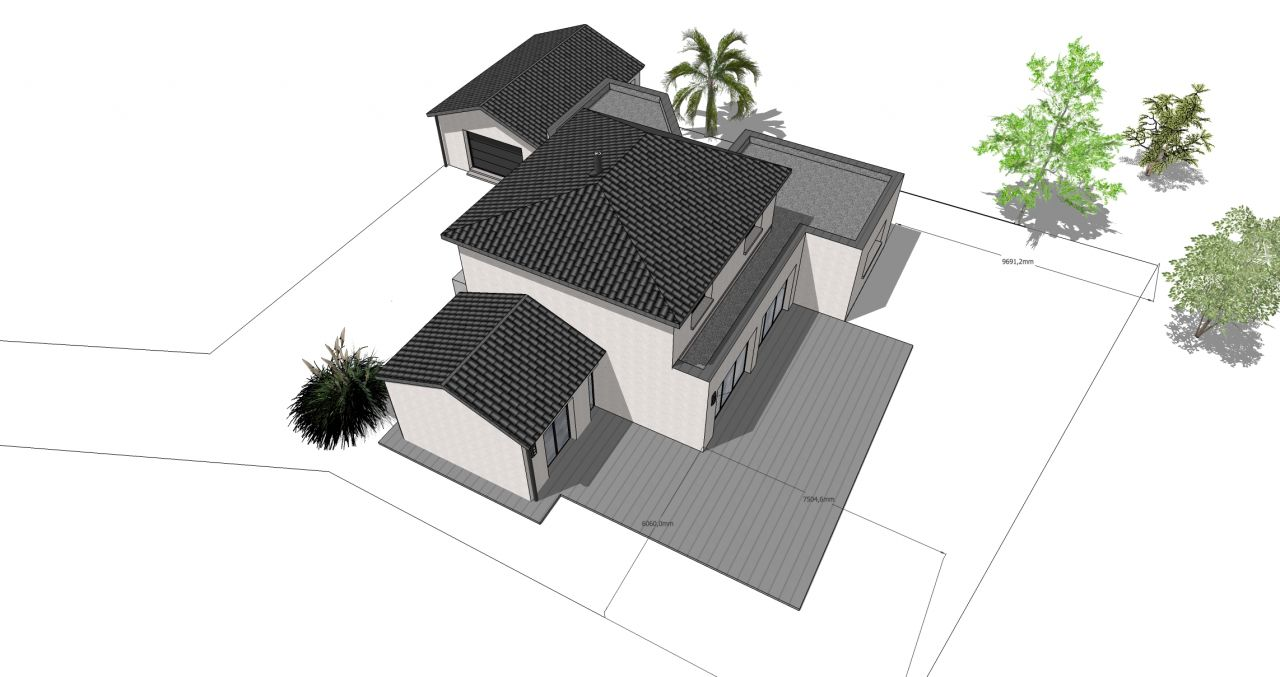 Projet N2, vue dessus