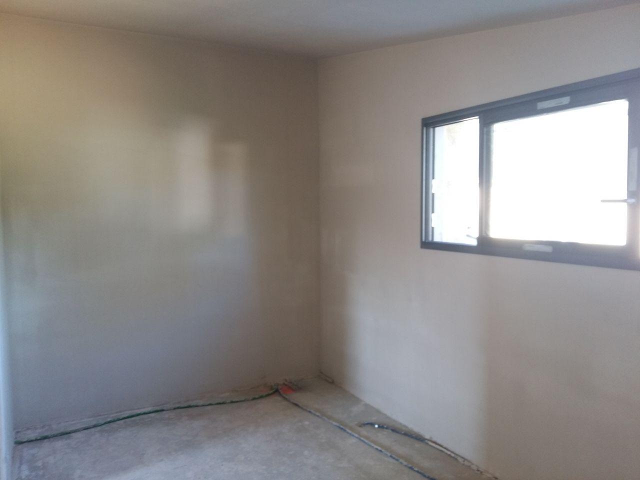 plâtres bureau étage